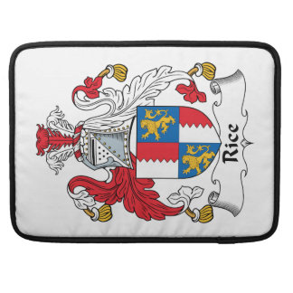 Rice Family Crest MacBook Pro Sleeve