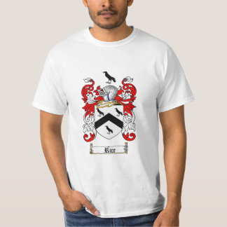 Rice Family Crest - Rice Coat of Arms T-Shirt