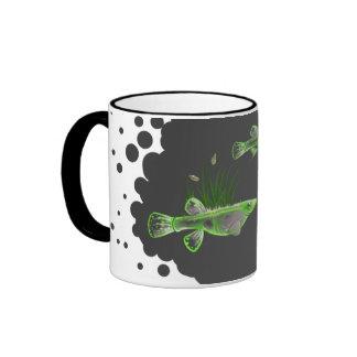 Rice Gambusia Ringer Coffee Mug