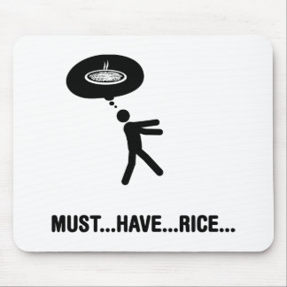 Rice Lover Mouse Pad