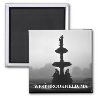 Rice Memorial Fountain Magnet