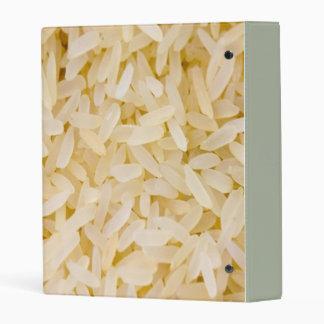rice mini binder