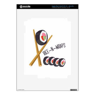 Rice-N-Wraps iPad 3 Skins