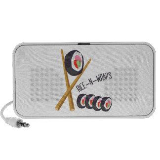 Rice-N-Wraps iPhone Speaker
