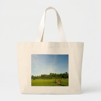 Rice paddy field in Bali Canvas Bag