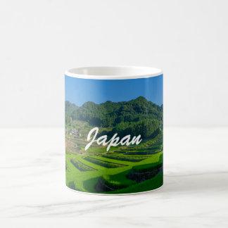 Rice Paddy Field in Japan Coffee Mug