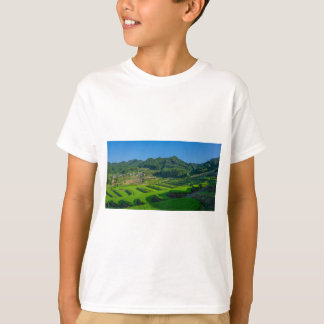 Rice Paddy Field in Japan T-Shirt