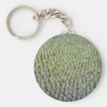 Rice paddy, Indonesia Basic Round Button Keychain