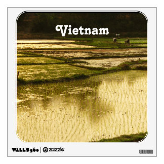 Rice Paddy Wall Decals