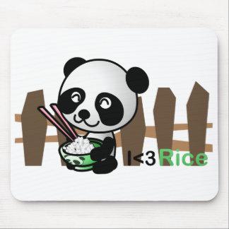 Rice Panda Mousepad