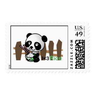 Rice Panda Postage