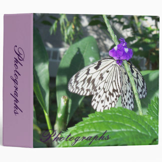 Rice Paper Butterfly Binder