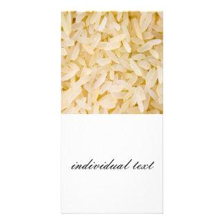 rice photo card