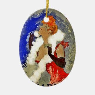 Rice Powder Poudre de Riz Ceramic Ornament