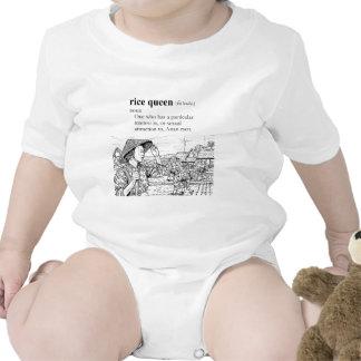 RICE QUEEN BABY BODYSUIT