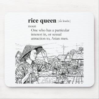 RICE QUEEN MOUSE PAD
