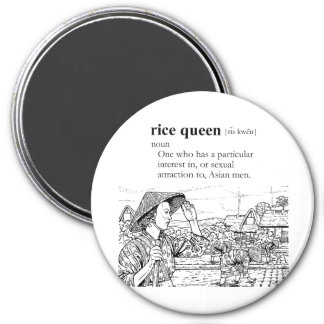 RICE QUEEN REFRIGERATOR MAGNETS