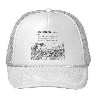 RICE QUEEN TRUCKER HAT