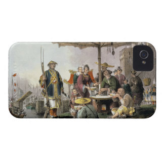 Rice Sellers at the Military Station of Tong-Chang iPhone 4 Case-Mate Case