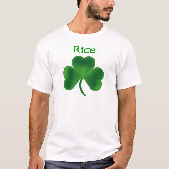 Rice Shamrock T-Shirt