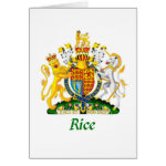 rice shield of great britain greeting card r393ad822c5d74c0d98690a68f545aaa1 xvuat 8byvr 150 Rice Coat of Arms