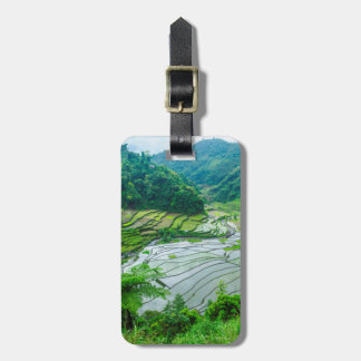 Rice terrace landscape, Philippines Luggage Tag