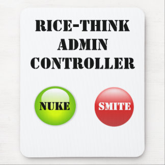 Rice-Think Admin Controller Mouse Pad