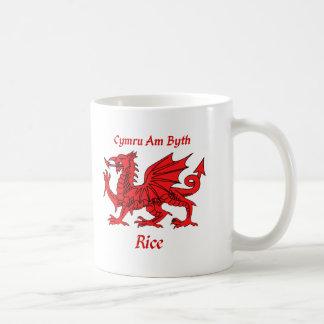 Rice Welsh Dragon Coffee Mug
