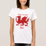 Rice Welsh Dragon T-Shirt