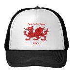 Rice Welsh Dragon Trucker Hat
