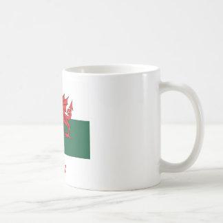 Rice Welsh Flag Coffee Mug