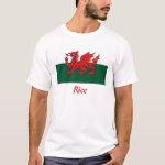 Rice Welsh Flag T-Shirt