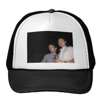 Rich and Colin on a Hat