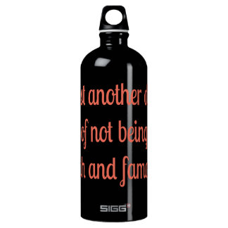 Rich and Famous SIGG Traveler 1.0L Water Bottle