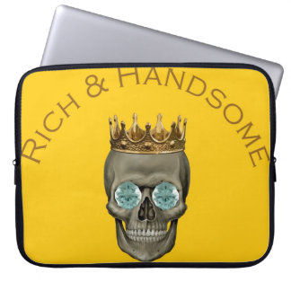 Rich and Handsome Computer Sleeve