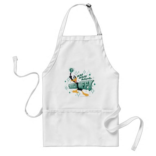 Rich and Wealthy Daffy Duck Apron
