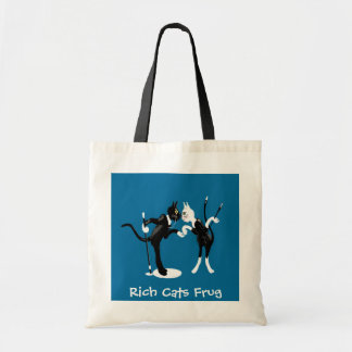 Rich Cats Frug Tote Bag