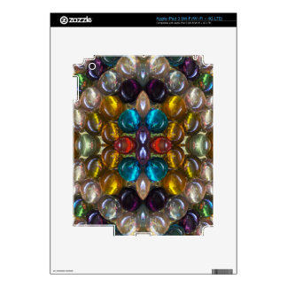 Rich Colored Glass Droplets Decal For iPad 3