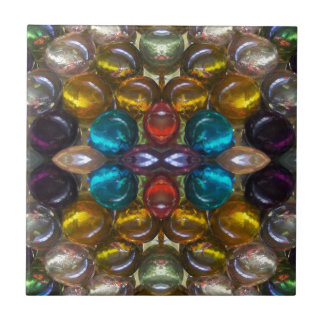 Rich Colored Glass Droplets Tiles
