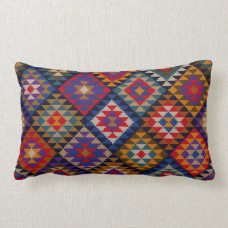 Rich Colored Indian Pattern Throw Pillows