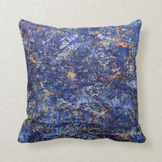 Rich Colorful Texture Pillow! Throw Pillow