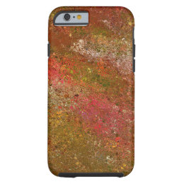 """""""RICH COLORS OF PINK, GOLD, ORANGE, GREEN, YELLOW TOUGH iPhone 6 CASE"""