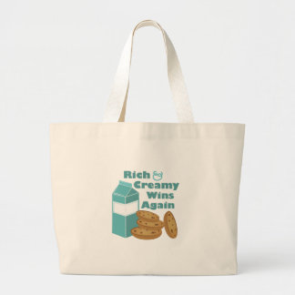 Rich & Creamy Large Tote Bag