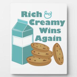 Rich & Creamy Plaque