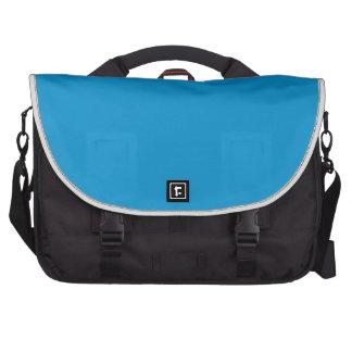 Rich Electric Blue Laptop Messenger Bag