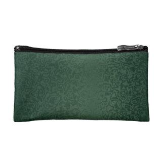 Rich Emerald Green Cosmetic Bag