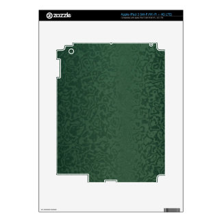 Rich Emerald Green Decals For iPad 3
