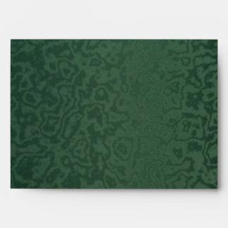 Rich Emerald Green Envelope