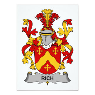 Rich Family Crest Card