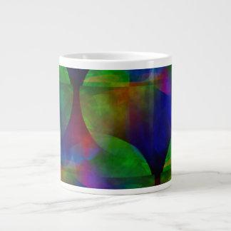 Rich Floating and Shifting Color Shapes Mug